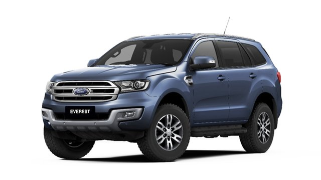 New Ford Everest UA MY18 Trend 4WD, 2018 Ford Everest UA MY18 Trend 4WD Blue Reflex 6 Speed Sports Automatic SUV