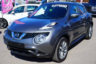 2017 Nissan Juke F15 Series 2 Ti-S X-tronic AWD Grey 1 Speed Constant Variable Hatchback.