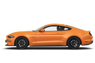 2018 Ford Mustang FN 2018MY GT Fastback Orange 6 Speed Manual Fastback.