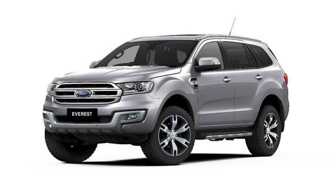 New Ford Everest UA 2018.00MY Titanium, 2018 Ford Everest UA 2018.00MY Titanium Aluminium 6 Speed Sports Automatic SUV