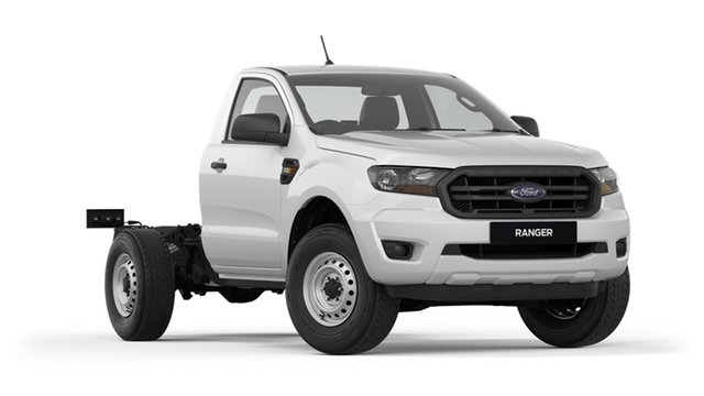 New Ford Ranger PX MkIII 2019.00MY XL, 2018 Ford Ranger PX MkIII 2019.00MY XL White 6 Speed Manual Cab Chassis