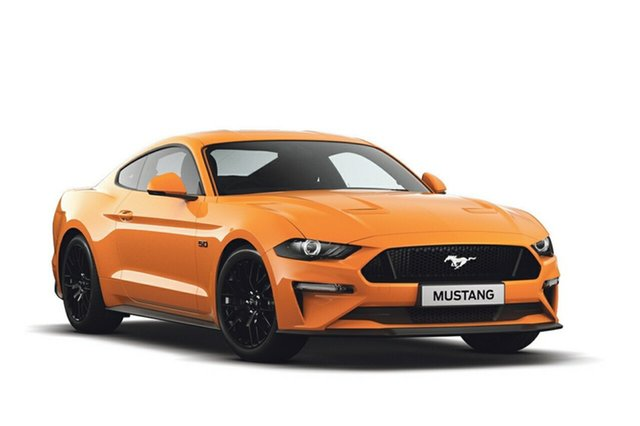 New Ford Mustang FN 2019MY GT Fastback RWD, 2018 Ford Mustang FN 2019MY GT Fastback RWD Orange Fury 6 Speed Manual Fastback