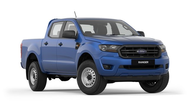 New Ford Ranger PX MkIII 2019.00MY XL Pick-up Double Cab 4x2 Hi-Rider, 2018 Ford Ranger PX MkIII 2019.00MY XL Pick-up Double Cab 4x2 Hi-Rider Blue 6 Speed Sports Automatic