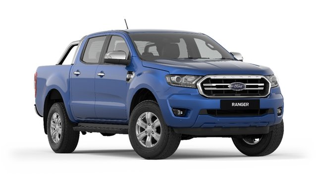 New Ford Ranger PX MkIII 2019.00MY XLT Pick-up Double Cab, 2018 Ford Ranger PX MkIII 2019.00MY XLT Pick-up Double Cab Blue Lightning 10 Speed Sports Automatic