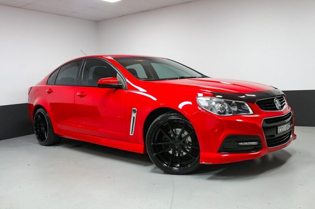 Used Holden Commodore VF MY14 SV6, 2013 Holden Commodore VF MY14 SV6 Red 6 Speed Sports Automatic Sedan