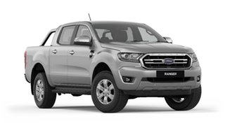 2018 Ford Ranger PX MkIII 2019.00MY XLT Pick-up Double Cab Ingot Silver 6 Speed Manual Utility.