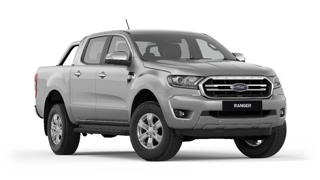 New Ford Ranger  XLT Pick-up Double Cab, 2019 Ford Ranger PX MKIII 2019.7 XLT Pick-up Double Cab Aluminium Silver 6 Speed Sports Automatic