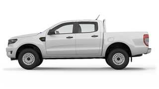 2019 Ford Ranger PX MkIII 2019.75MY XL Pick-up Double Cab White 6 Speed Sports Automatic Utility.