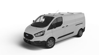 2018 Ford Transit Custom VN 2018.75MY 340L Low Roof LWB Frozen White 6 Speed Automatic Van.