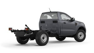 2020 Ford Ranger PX MkIII 2020.75MY XL Hi-Rider Grey 6 Speed Sports Automatic Single Cab Chassis.