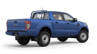 2018 Ford Ranger PX MkIII 2019.00MY XL Pick-up Double Cab 4x2 Hi-Rider Blue 6 Speed Sports Automatic.