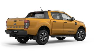 2019 Ford Ranger PX MkIII 2019.75MY Wildtrak Pick-up Double Cab Gold 6 Speed Sports Automatic.
