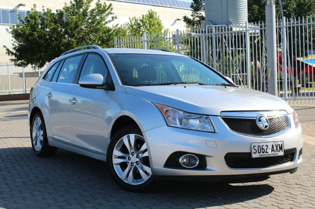 Used Holden Cruze JH Series II MY14 CDX Sportwagon, 2013 Holden Cruze JH Series II MY14 CDX Sportwagon Silver 6 Speed Sports Automatic Wagon