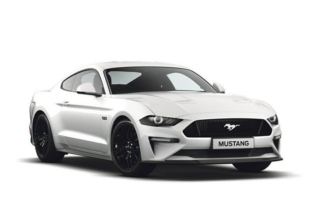 New Ford Mustang FN 2019MY GT Fastback SelectShift RWD, 2018 Ford Mustang FN 2019MY GT Fastback SelectShift RWD Oxford White 10 Speed Sports Automatic