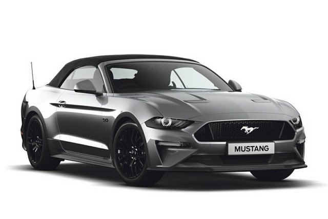 New Ford Mustang FN 2019MY GT SelectShift RWD, 2019 Ford Mustang FN 2019MY GT SelectShift RWD Ingot Silver 10 Speed Sports Automatic Convertible