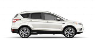 2019 Ford Escape ZG 2019.75MY Titanium AWD White Platinum 6 Speed Sports Automatic Wagon.