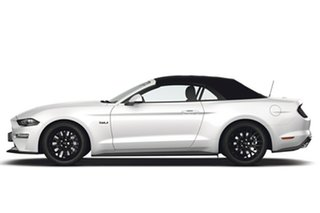 2018 Ford Mustang FN 2018MY GT SelectShift Oxford White 10 Speed Sports Automatic Convertible.