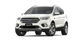 2019 Ford Escape ZG 2019.75MY Trend PwrShift AWD White Platinum 6 Speed Sports Automatic Dual Clutch.