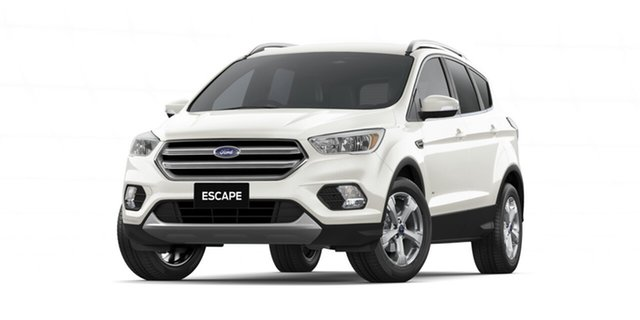 New Ford Escape ZG 2019.75MY Trend 2WD, 2019 Ford Escape ZG 2019.75MY Trend 2WD White Platinum 6 Speed Sports Automatic Wagon