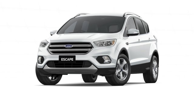 New Ford Escape ZG 2019.25MY Trend 2WD, 2019 Ford Escape ZG 2019.25MY Trend 2WD Frozen White 6 Speed Sports Automatic Wagon