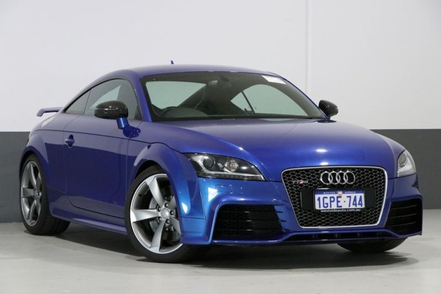 Used Audi TT 8J MY13 RS Plus, 2013 Audi TT 8J MY13 RS Plus Blue 7 Speed Auto Direct Shift Coupe