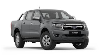 2020 Ford Ranger PX MkIII 2020.25MY XLT Pick-up Double Cab Meteor Grey 6 Speed Sports Automatic.