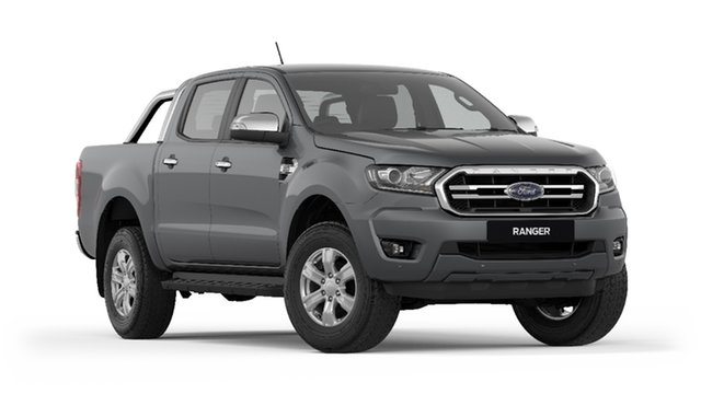 New Ford Ranger  XLT Pick-up Double Cab, 2019 Ford Ranger PX MKIII 2019.7 XLT Pick-up Double Cab Meteor Grey 10 Speed Sports Automatic