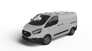 2019 Ford Transit Custom VN 2018.75MY 300S Low Roof SWB White 6 Speed Automatic Van.