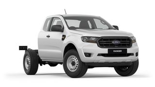 2018 Ford Ranger PX MkIII 2019.00MY XL Super Cab 4x2 Hi-Rider White 6 Speed Sports Automatic.