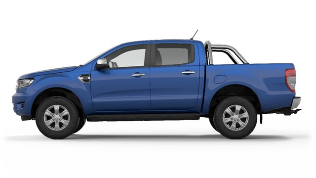 New Ford Ranger PX MkIII 2019.00MY XLT Pick-up Double Cab, 2018 Ford Ranger PX MkIII 2019.00MY XLT Pick-up Double Cab Lightning Blue 6 Speed Sports Automatic