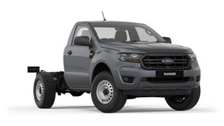 2019 Ford Ranger PX MkIII 2019.75MY XL 4x2 Hi-Rider Grey 6 Speed Sports Automatic Cab Chassis.