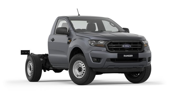 New Ford Ranger PX MkIII 2020.75MY XL Hi-Rider, 2020 Ford Ranger PX MkIII 2020.75MY XL Hi-Rider Grey 6 Speed Sports Automatic Single Cab Chassis