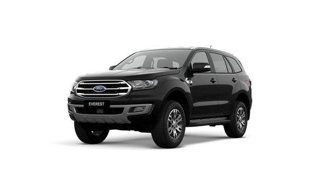 New Ford Everest UA II 2019.75MY Trend RWD, 2019 Ford Everest UA II 2019.75MY Trend RWD Shadow Black 10 Speed Sports Automatic SUV