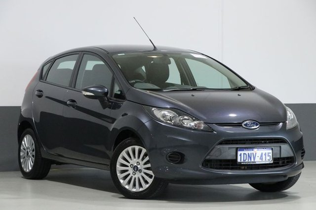 Used Ford Fiesta WS LX, 2010 Ford Fiesta WS LX Grey 4 Speed Automatic Hatchback