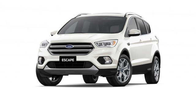 New Ford Escape ZG 2018.75MY Titanium PwrShift AWD, 2018 Ford Escape ZG 2018.75MY Titanium PwrShift AWD Frozen White 6 Speed