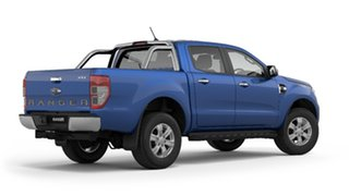 2018 Ford Ranger PX MkIII 2019.00MY XLT Pick-up Double Cab Blue Lightning 6 Speed Sports Automatic.
