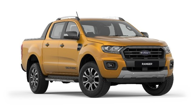 New Ford Ranger PX MkIII 2019.75MY Wildtrak Pick-up Double Cab, 2019 Ford Ranger PX MkIII 2019.75MY Wildtrak Pick-up Double Cab Saber 6 Speed Sports Automatic