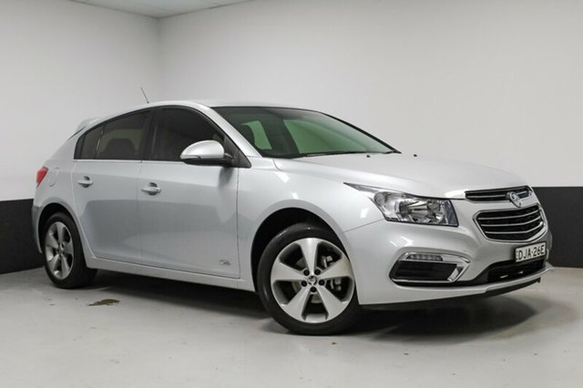 Used Holden Cruze JH Series II MY16 Z-Series, 2016 Holden Cruze JH Series II MY16 Z-Series Silver 5 Speed Manual Hatchback