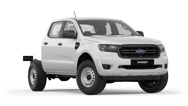 New Ford Ranger PX MkIII 2019.00MY XL Double Cab 4x2 Hi-Rider, 2018 Ford Ranger PX MkIII 2019.00MY XL Double Cab 4x2 Hi-Rider Frozen White 6 Speed Sports Automatic