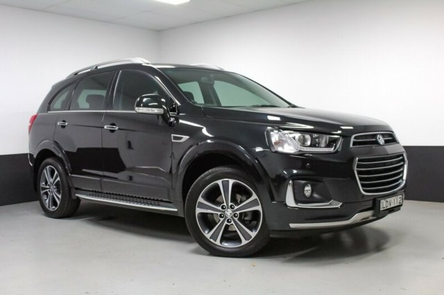 Used Holden Captiva CG MY16 LTZ AWD, 2016 Holden Captiva CG MY16 LTZ AWD Black 6 Speed Sports Automatic Wagon