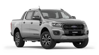 2019 Ford Ranger PX MkIII 2019.75MY Wildtrak Pick-up Double Cab Aluminium 10 Speed Sports Automatic.