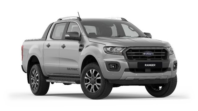 New Ford Ranger PX MkIII 2019.75MY Wildtrak Pick-up Double Cab, 2019 Ford Ranger PX MkIII 2019.75MY Wildtrak Pick-up Double Cab Aluminium 10 Speed Sports Automatic