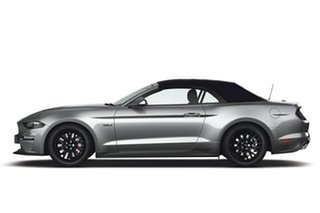 2019 Ford Mustang FN 2019MY GT SelectShift RWD Ingot Silver 10 Speed Sports Automatic Convertible.