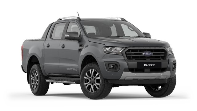 New Ford Ranger PX MkIII 2019.00MY Wildtrak Pick-up Double Cab, 2018 Ford Ranger PX MkIII 2019.00MY Wildtrak Pick-up Double Cab Meteor Grey 6 Speed Manual Utility