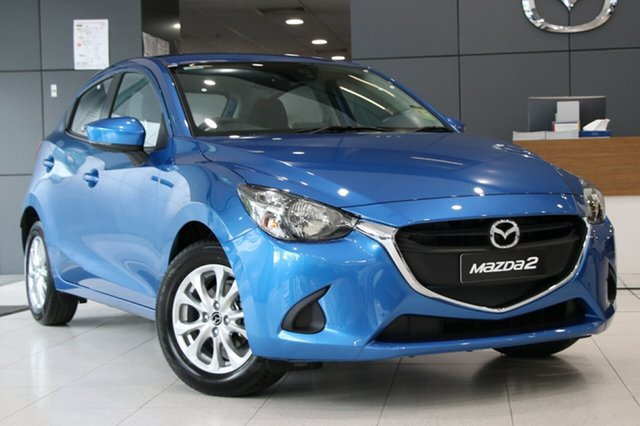 New Mazda 2 DJ2HAA Maxx SKYACTIV-Drive, 2018 Mazda 2 DJ2HAA Maxx SKYACTIV-Drive Dynamic Blue 6 Speed Sports Automatic Hatchback