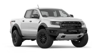 2019 Ford Ranger PX MkIII 2019.75MY Raptor Pick-up Double Cab Arctic White 10 Speed Sports Automatic.