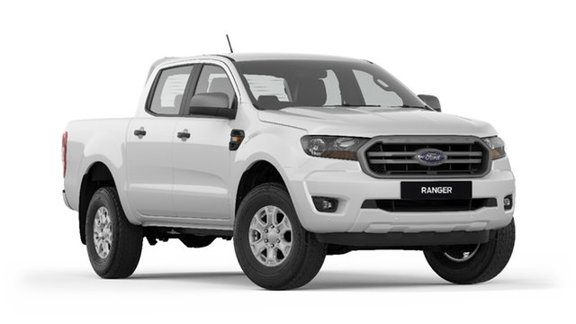 New Ford Ranger PX MkIII 2019.00MY XLS Pick-up Double Cab, 2019 Ford Ranger PX MkIII 2019.00MY XLS Pick-up Double Cab Arctic White 6 Speed Sports Automatic