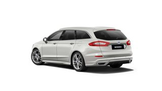 2018 Ford Mondeo MD 2018.75MY Titanium PwrShift Silver 6 Speed Sports Automatic Dual Clutch Wagon