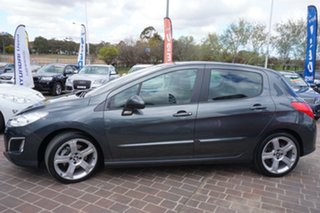 2012 Peugeot 308 T7 MY12 Allure Grey 6 Speed Sports Automatic Hatchback