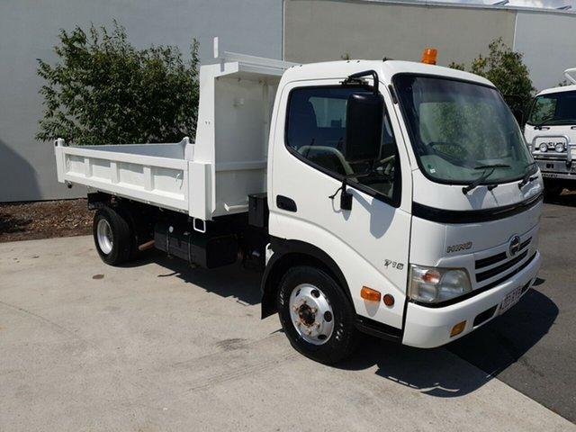 Used Hino 300  , 2011 Hino 300 716 XZU419R White Tipper RWD